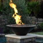 firebowls are smaller than firepits
