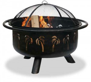 swimming pool firepits