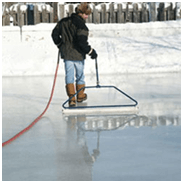 your own personal zamboni for your personal ice rink