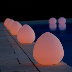 Pool Party Lighting Ideas floating led lights on pool beautiful idea for cocktail parties and summer nights for Gli Chill Lites Pool Patio Accent Lighting For Pools