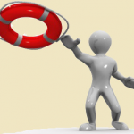 life ring buoy for pool safety - purchased thru PresenterMedia