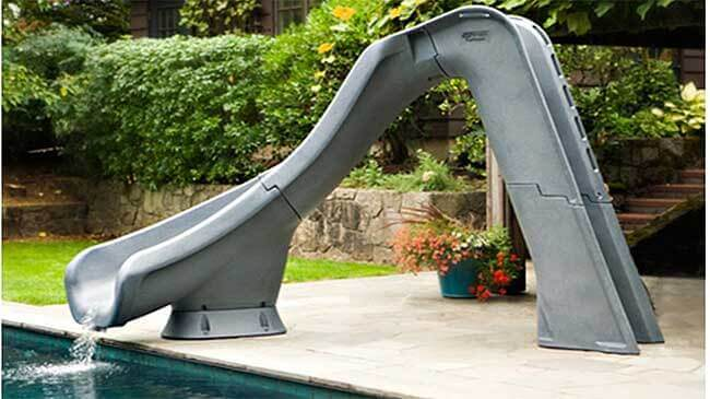 Swimming Pool Slides A Er S Guide, Are There Slides For Above Ground Pools