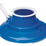 image of leaf gulper, our garden hose powered pool leaf remover