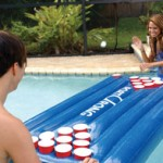 buy portOpong game beer pong game for the pool, portable beer pong game