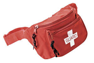 fanny packs for life guards