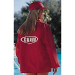 Nylon lifeguard jacket windbreakers