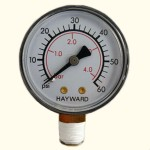 pressure gauge for pools