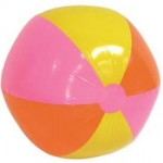 water workout beach ball