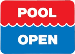 pool's open! time to open the pool, here's how