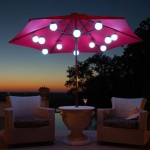 Led Globe Umbrella lights