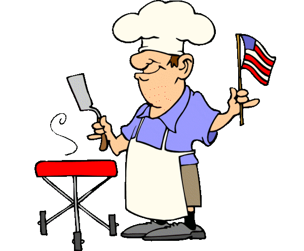 free clipart man grilling - photo #28