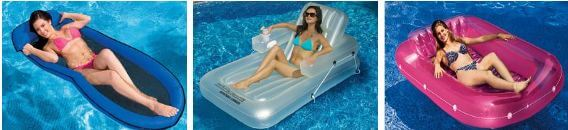 classic pool floats and rafts