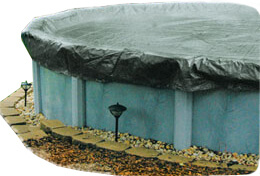 solid winter pool covers