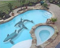 How To Paint A Mural In Your Pool Intheswim Pool Blog