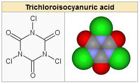 trichlor tablet chemical formulation