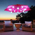 led globe lights for umbrellas on your patio
