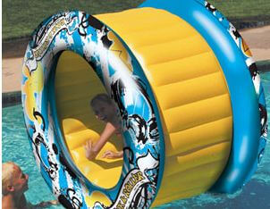 Aqua Roller fun pool floats