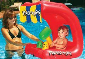 Baby Bopper inflatable pool seat for babies
