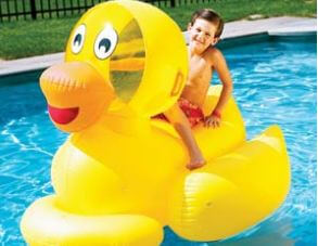 Giant Inflatable Ducky