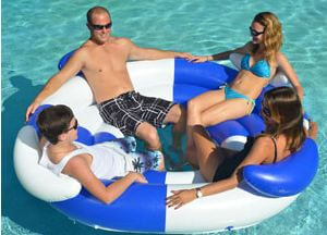 Sofa Island pool floats