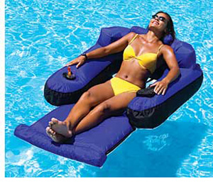 Ultimate Fabric Covered Lounger