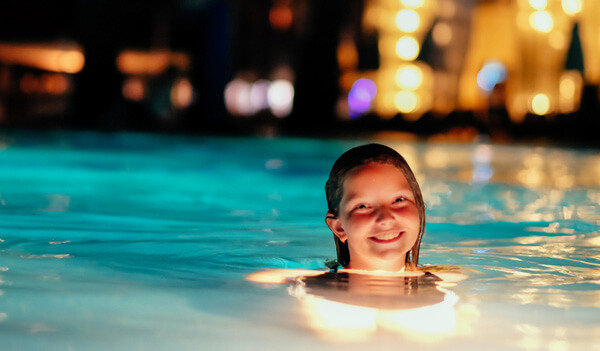 Dramatic Pool Amp Patio Lighting Ideas Intheswim Pool Blog