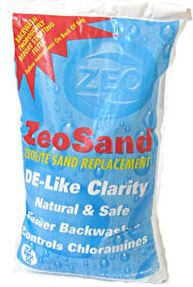 zeo-sand pool filter sand substitute
