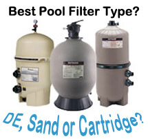 Best pool filter type de sand or cartridge intheswim How to clean swimming pool filter cartridge