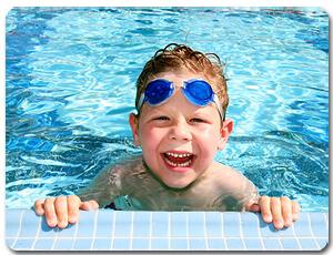 happy swimmer - purchased thru istock