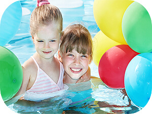 kids-pool-party purchased thru istock