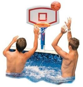 Jammin basketball game, above ground pool hoops