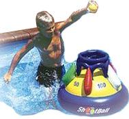 Shootball floating pool basketball game