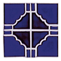 Sunburst 808 pool tile, a very common style