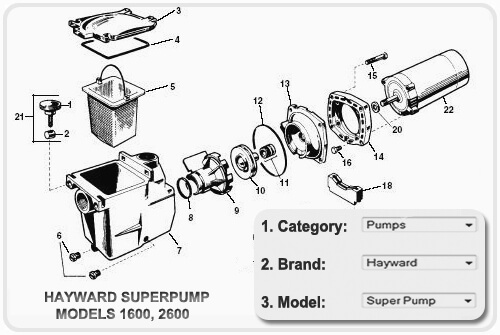 HOW-TO-ORDER POOL PUMP-PARTS