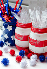 Five 4th of July Decorating Ideas at ItAllStartedWithPaint.com