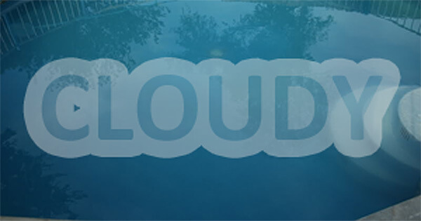 Cloudy Pool Water Issues   InTheSwim Pool Blog