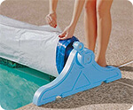 poly-tarp - UV shield for pool solar blankets