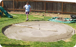 2x4 level system for 18' round pool