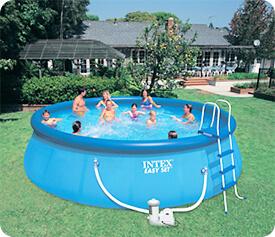 Intex Pools are HOT ~ 18' Easy Set Pool Set-Up | InTheSwim Pool Blog