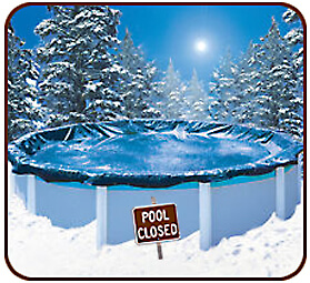 pool-closed for winter