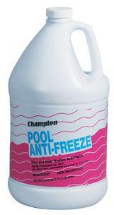 pool-antifreeze
