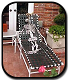 awesome skeleton-in-pool-chair