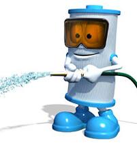 unicel-cartridge-guy-spraying