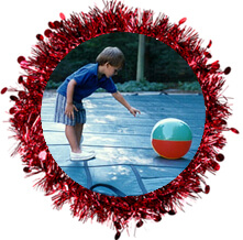 pool-safety-covers - tinsel ring purchased thru istock