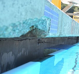 Earthquake-Damage-to-Trefethen-Aquatic-Center-at-Mills-College