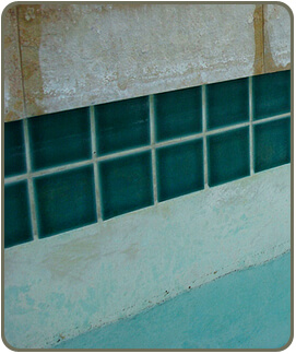 stained-pool-surfaces - note the blue-green copper staining