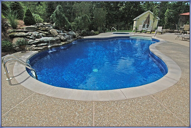 Swimming pool rehab remodeling renovation ideas for In ground pool coping ideas