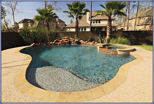 Swimming pool rehab remodeling renovation ideas for In ground pool backyard ideas