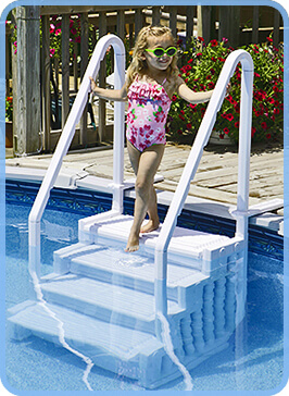 aboveground pool steps