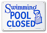 pool-closed-party